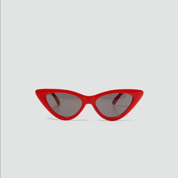 cfe0835a50 Zara slim cat s eye sunglasses